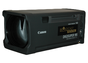The Canon Digisuper XJ95x8.6 lens is the very best you can have. Now for hire at Broadcast Rental and a perfect companion to the Grass Valley LDX 86 XS XtremeSpeed camera or our NAC Hi-Motion II camera.