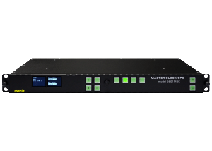 Evertz 5601 MSC Sync Pulse Generator with 4 sync outputs and 2 timecode outputs available at Broadcast Rental.