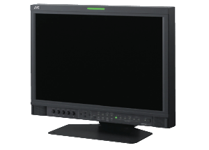 The JVC 24 inch LDC monitor is available at Broadcast Rental