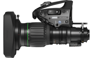 The Canon CJ14x UHD lens is available for hire at Broadcast Rental