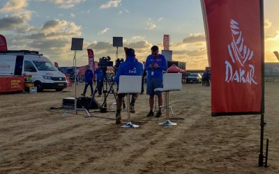 Broadcast Rental heads into the Saudi Arabian desert for live Dakar Rally coverage