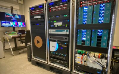 The Remote Green Rooms of Broadcast Rental & Com1 Communication Solutions