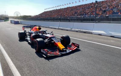 Well-oiled machine in the Formula 1 circus